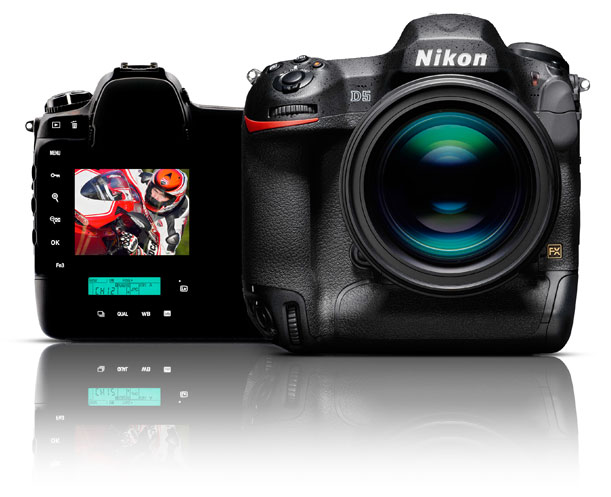 Nikon D5 back and front on Nature Photo Portal
