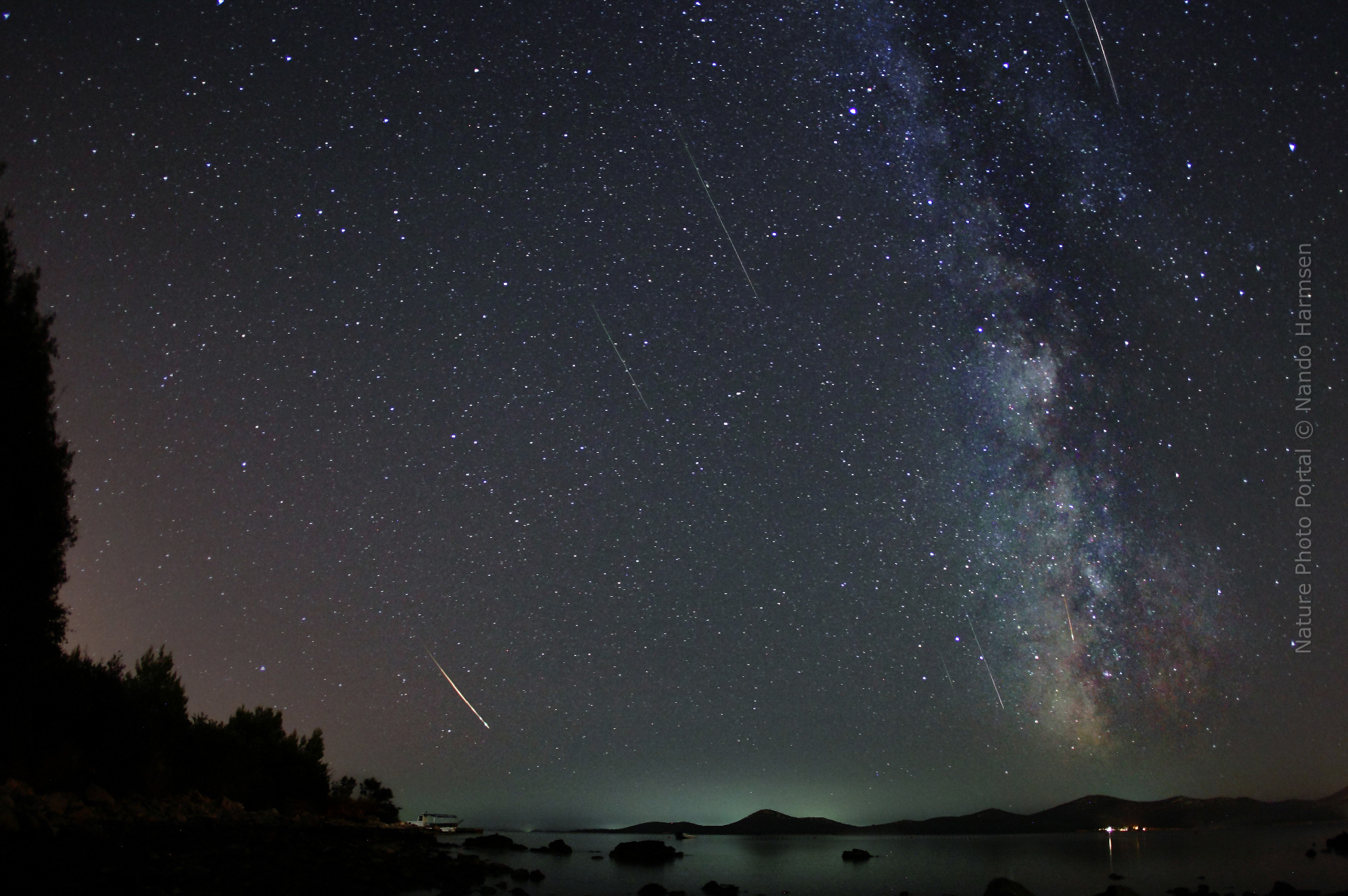 Perseïd meteor shower Taking pictures of falling stars